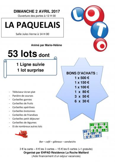 Affiche loto a4 ehpad 1 2